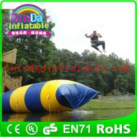 Water Playing Inflatable Catapult Blob large inflatable pillow blob Manufactures