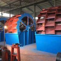 20-50 T/H Bucket Sand Washer  Customized Color Stable Operation 0-10mm Feeding Size Manufactures