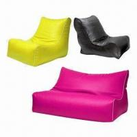 China Bean Bag Chair for Living Room or Outdoors with EPS Beads Fillings on sale