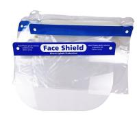 China Acid Alkali Proof Clear Plastic Face Shield Reasonable Structure Convenient Portable on sale