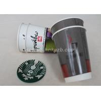 Hot Beverage Disposable Double Walled Paper Coffee Cups Custom Logo Printed Manufactures