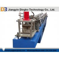 75mm Automatic Roll Shutter Door Roll Forming Machine 0.8-2.0mm With PLC Control Manufactures