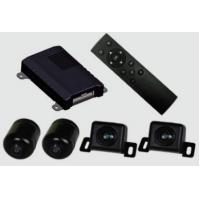 Universal 3D Full HD 360 AVM Car Camera System , High Definition , 1080P , 4 way DVR Manufactures