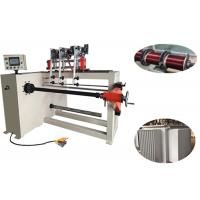 Three 400mm Height Coil Winding Machine , PLC Control Automatic Wire Winder Manufactures