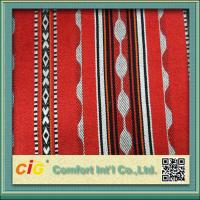 Middle - East Style 300GSM Upholstery Sadu Fabric For Sofa / Mattress / Cushion Manufactures