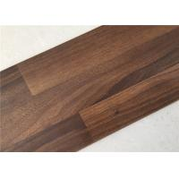 Dark Walnut Wooden Floor Boards,  Commercial Unilin Click Laminate Flooring Manufactures