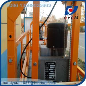 630kg ZLP630 man mini cargo lift aerial work platform for construction and decoration Manufactures