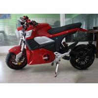 Quality Direct Hub Motor Drive Electric Sport Motorcycle Disc Brake 70km / H Max Speed for sale