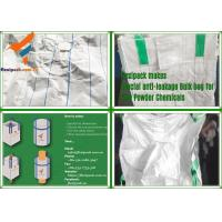 Green Color with Baffle PP Woven Type A Bulk Bag/ Jumbo Bag Used for Chemical/Alumina/ Dye Manufactures