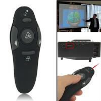 15m Control Distance Multimedia RF Wireless Presenter with Laser Pointer & USB Receiver Manufactures