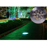 China Outdoor Waterproof Underground Pool Lights 12 w High Power DC 24V on sale