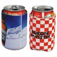 Neoprene can cooler sleeve pouch,Neoprene Coke can skin case, sublimation full color print Manufactures