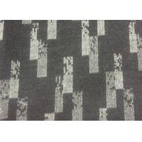 Yarn Dyed Pattern Jacquard Weave Fabric White And Black 750g/M Manufactures