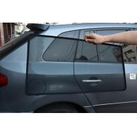 UV Block Polyester Material Car Window Sunshade On Koleos Car Two Pieces Rear Manufactures