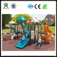 Preschool Play Equipment  Outdoor Playground for Schools QX-006C Manufactures