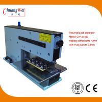 110V 220V 10W Pneumatic V-Cutting Machine 620 * 230 * 400mm for sale