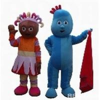 popular cartoon characters Iggle Piggle and Upsy Daisy mascot costumes  Manufactures