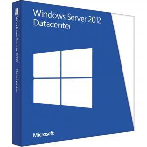 China FPP Retail Key Windows Server 2012 Datacenter Key Code Online Activation 32 / 64 Bit on sale