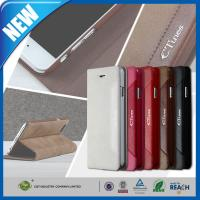 """High End Slim Apple Iphone 6 Plus 5.5"""" Cell Phone WalletCover , Phone Protective Shell Manufactures"""