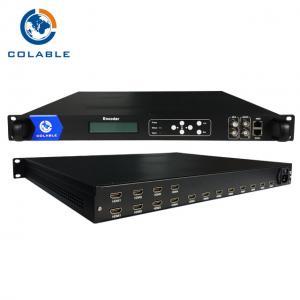 Digital TV Headend 8/ 12/ 16/ 20/ 24 Channels HD H.264 Encoder COL5011F Manufactures