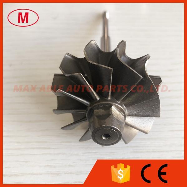 Quality K04 44.5/50mm 12 blades open fin 53049880064 53049700064 06F145702C 06F145702CX turbo turbine shaft&wheel/turbo wheel for sale