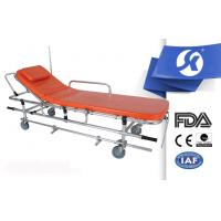 Aluminum Alloy Ambulance Patient Stretcher Trolley Dimension Adjustable Manufactures