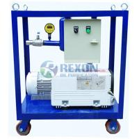 Safe Transformer Vacuum Pump Set Reliable Operation With Control Panel Manufactures