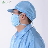 Quality Anti Static ESD Cleanroom strap Face Mask with adjustable stoppers folding for sale