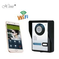 China High Pixel IR Camera Remote Control Access Control System WIFI Video Intercom Video Door Phone System on sale