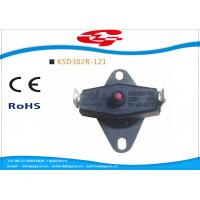 KSD302 series manual reset Snap Disc Thermostat / bi metal thermostat for heat protection Manufactures