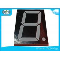 Lead Free 7 Segment Digital Clock LED Display With Low Voltage And Current , High Brightness Manufactures