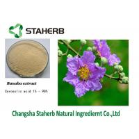 Corosolic Acid Banaba Leaf Antibacterial Plant Extracts Manufactures