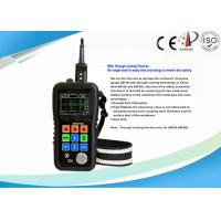 High Accuracy Pocket Ultrasonic Thickness Gauge With 0.01 Mm High Resolution Manufactures