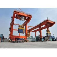 Heavy Duty Port Crane Beautiful Appearance With Electric Remote Control for sale