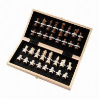 Wooden Game/Wooden Toys 12 Inches Chess Set Manufactures