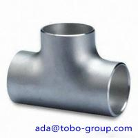 Gas hardware Seamless Stainless Steel Tee A815 UnsS32750 W1.4462 Manufactures