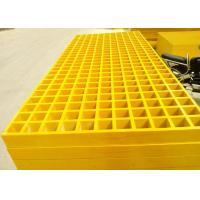 Smooth Plastic Grating Panels , 38 X 38 Hole Plastic Grate Flooring For Walkway Manufactures