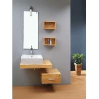 Solid Wood Bathroom cabinets PY-S027 size 765*460*230mm