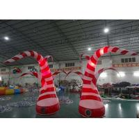 China Beauty Inflatable Tentacle With Led Lighting For Party / Stage / Room Decoration on sale