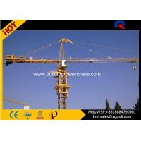 Hammerhead Fixed Tower Crane , Large Construction Cranes 30M Freestanding Height Manufactures