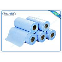 Light Blue Disposable Bed sheet PP Nonwoven Massage Bedsheet Roll for Hospital Manufactures