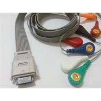 Compatible biomedical bi9800/9000 7leads ecg holter cable Manufactures