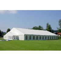 China Water Resistant Small Aluminum Frame Tent , 12m Transparent Wedding Tent wholesale