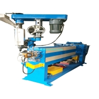 China Single Screw Electricity 380V 50HZ Wire Cable Extruder Machine on sale