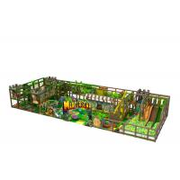 Middle Size Kids Indoor Playground Equipment Inside Jungle Gym Anti Crack Manufactures