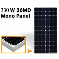 China 43.2V Mono Silicon Solar Panels 330W , Solar Pv Module High Transmission Glass on sale