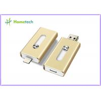 Aluminum Alloy Compact 8GB USB Disk iflash Drive Mobile Phone OTG For PC Manufactures