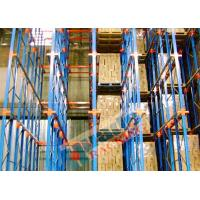Channel Type Drive In Racking High Density Storage Racks For Frozen Food Freezers Manufactures