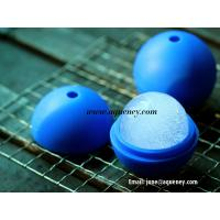 Soccer ball silicone mold ice ball cube tool, silicone ice ball tray Manufactures