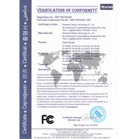 SHENZHEN ZXT LCD TECHNOLOGY CO.,LIMITED Certifications